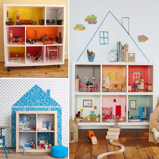DIY   Estante Casinha de Boneca pap casinha de bonecas diy casinha de bonecas