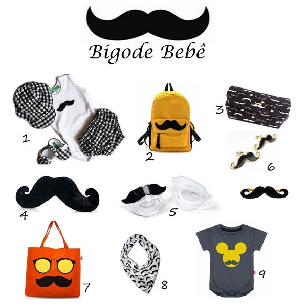 A moda Mustache