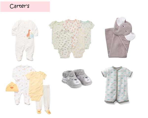 Roupa Unisex para Bebe Carters-vert